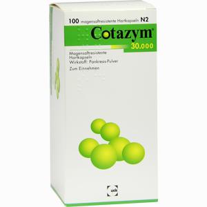 Abbildung von Cotazym 30000 Kapseln 100 Stück