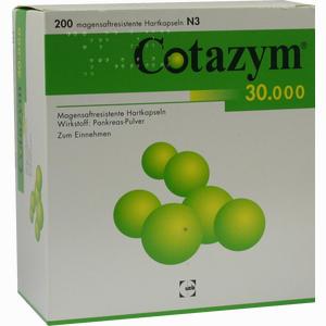 Abbildung von Cotazym 30000 Kapseln 200 Stück