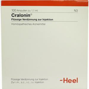 Abbildung von Cralonin  Ampullen 100 Stück