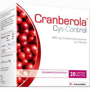Abbildung von Cranberola Cys- Control Pulver 20 x 5 g