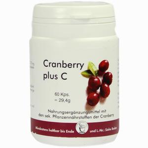Abbildung von Cranberry + C Kapsel Kapseln 60 Stück