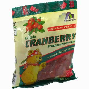 Abbildung von Cranberry Fruchtsaftbärchen 100 g