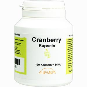Abbildung von Cranberry Kapseln  100 Stück