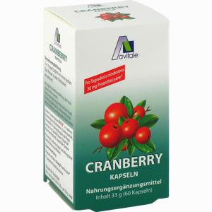 Abbildung von Cranberry Kapseln 400mg  60 Stück