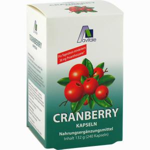 Abbildung von Cranberry Kapseln 400mg  240 Stück