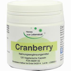 Abbildung von Cranberry Kapseln G & m naturwaren 120 Stück