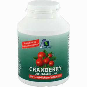 Abbildung von Cranberry Lutschtabletten  120 Stück