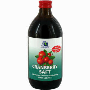 Abbildung von Cranberry Saft 100% Frucht  500 ml