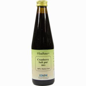 Abbildung von Cranberry Saft Pur Bio Vitalhaus  330 ml