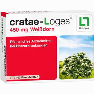 Abbildung von Cratae- Loges 450mg Filmtabletten 100 Stück