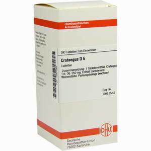 Abbildung von Crataegus D6 Tabletten 200 Stück