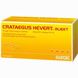 Abbildung von Crataegus Hevert Injekt Ampullen 50 Stück