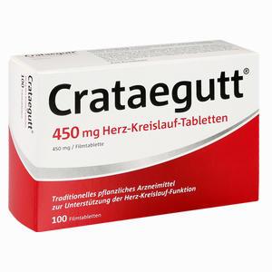 Abbildung von Crataegutt 450 Mg Herz- Kreislauf- Tabletten Filmtabletten 100 Stück