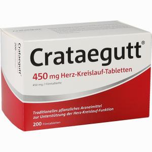Abbildung von Crataegutt 450 Mg Herz- Kreislauf- Tabletten Filmtabletten 200 Stück