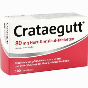Abbildung von Crataegutt 80 Mg Herz- Kreislauf- Tabletten Filmtabletten 100 Stück