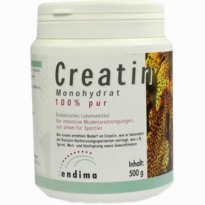 Abbildung von Creatin Monohydrat 100% Pur Pulver 500 g