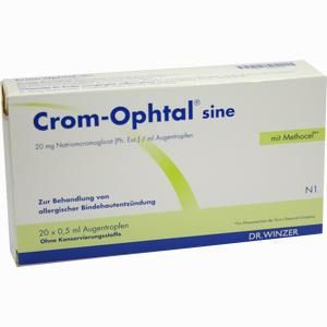 Abbildung von Crom Ophtal Sine Ein Dosis Behaelter Lösung 20 x 0.5 ml