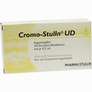 Abbildung von Cromo- Stulln Ud Augentropfen 50 x 0.5 ml