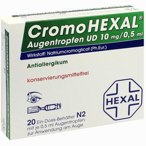 Abbildung von Cromohexal Augentropfen Ud 20 Stück