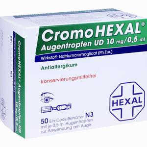 Abbildung von Cromohexal Augentropfen Ud 50 Stück