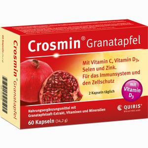 Abbildung von Crosmin Granatapfel Kapseln 60 Stück
