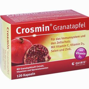 Abbildung von Crosmin Granatapfel Kapseln 120 Stück