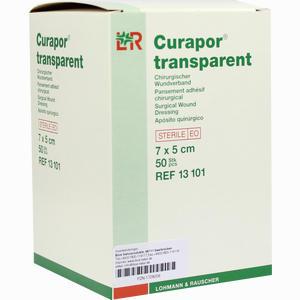 Abbildung von Curapor Tran Wundv St 7x5  50 Stück