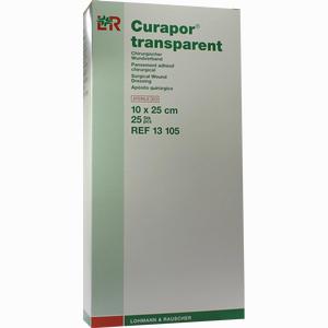 Abbildung von Curapor Tran Wundv St10x25  25 Stück