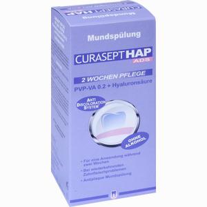 Abbildung von Curasept Hap Ads Mundspülung Pvp- Va 0.2 + Hyaluronsäure Spüllösung 200 ml