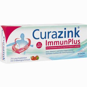 Abbildung von Curazink Immunplus Lutschtabletten 20 Stück