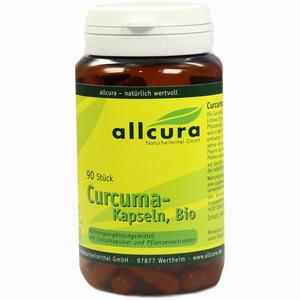 Abbildung von Curcuma Kapseln Bio  90 Stück