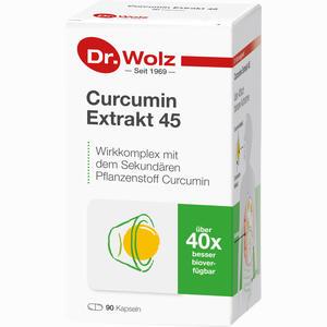 Abbildung von Curcumin Extrakt 45 Dr. Wolz Kapseln 90 Stück