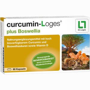 Abbildung von Curcumin- Loges Plus Boswellia Kapseln 60 Stück
