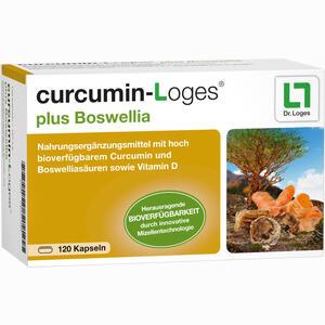 Abbildung von Curcumin- Loges Plus Boswellia Kapseln 120 Stück