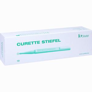Abbildung von Curette Stiefel 4mm  10 Stück
