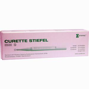 Abbildung von Curette Stiefel 7mm  10 Stück