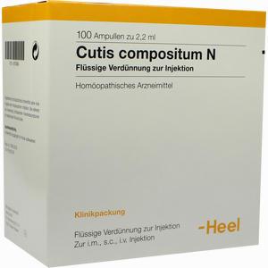 Abbildung von Cutis Compositum N Ampullen 100 Stück
