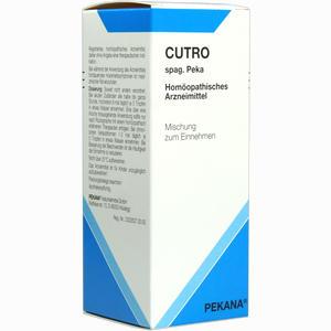 Abbildung von Cutro Spag. Peka Tropfen 100 ml