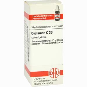 Abbildung von Cyclamen C30 Globuli 10 g
