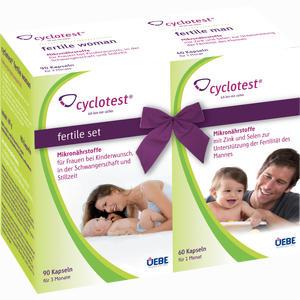 Abbildung von Cyclotest Fertile Set Kapseln 1 Packung