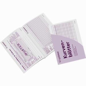 Abbildung von Cyclotest Kurvenblätter für 12 Monate 1 Packung