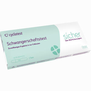 Abbildung von Cyclotest Schwangerschaftstest 25 Mlu/ml  1 Stück