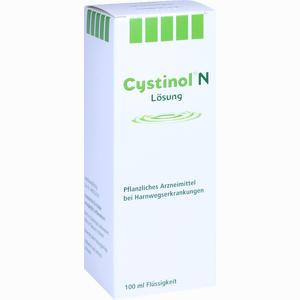 Abbildung von Cystinol N Lösung  100 ml