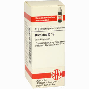 Abbildung von Damiana D12 Globuli 10 g
