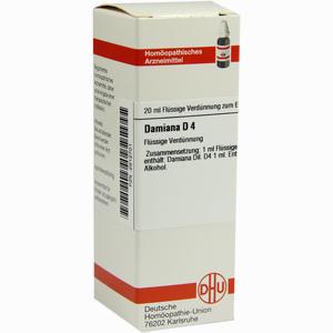 Abbildung von Damiana D4 Dilution 20 ml