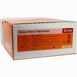 Abbildung von Dansac Nova 2 High Output Drainagebeutel 1207- 55  10 Stück