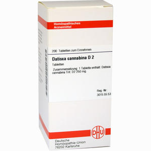 Abbildung von Datisca Cannabina D2 Tabletten 200 Stück