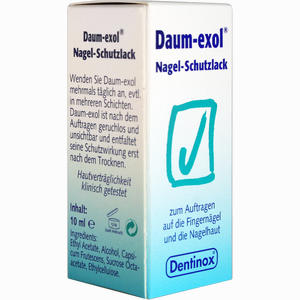 Abbildung von Daum- Exol Nagel- Schutzlack Fluid 10 ml