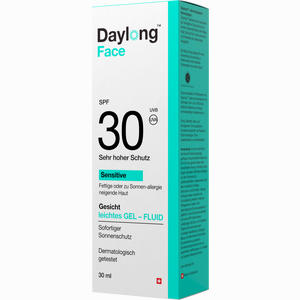 Abbildung von Daylong Face Gelfluid Spf 30 Gel 30 ml