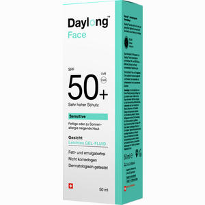 Abbildung von Daylong Face Gelfluid Spf 50+ Gel 50 ml